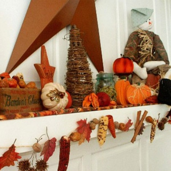 40 Thanksgiving Mantelpiece D Cor Ideas Digsdigs