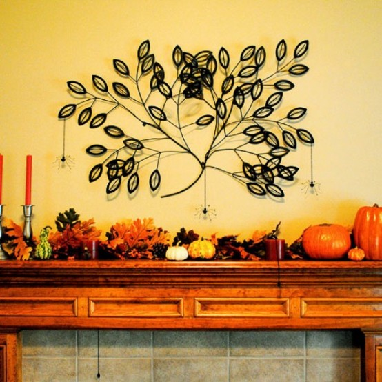 Thanksgiving Mantelpiece Decor Ideas