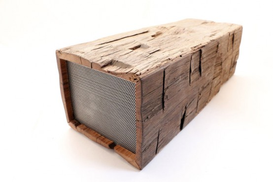 The BeamBox: 100-Year-Old Wood And Modern Technologies