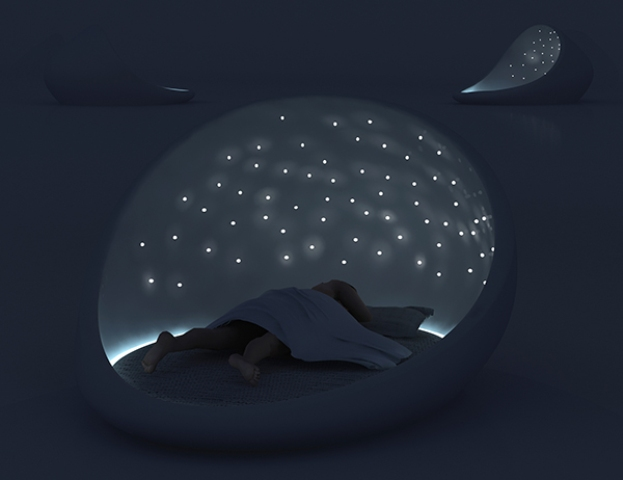 The Cosmos Bed For Enjoying A Starry Sky - DigsDigs