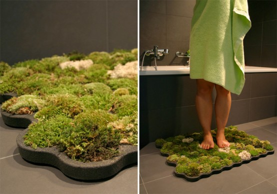 the moss carpet