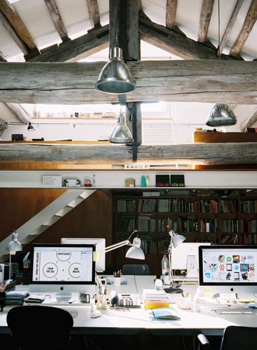 110 The Most Cool Home Office Designs Of 2012