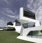 the most futuristic house in the world