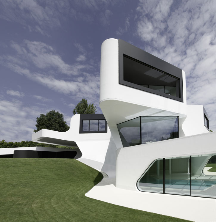 Futuristic House Delectable The Most Futuristic House Design In The World  Digsdigs Decorating Design