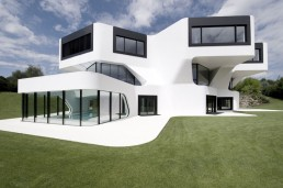 the most futuristic house exterior