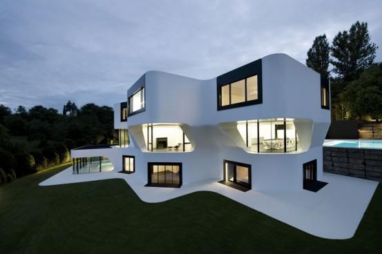 the most futuristic house