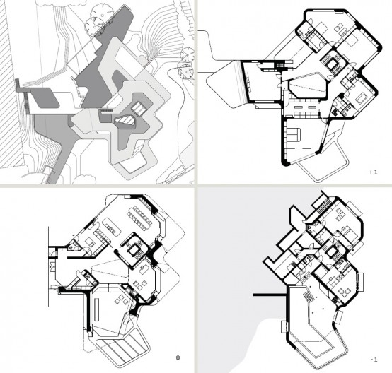 the most futuristic house floor plan