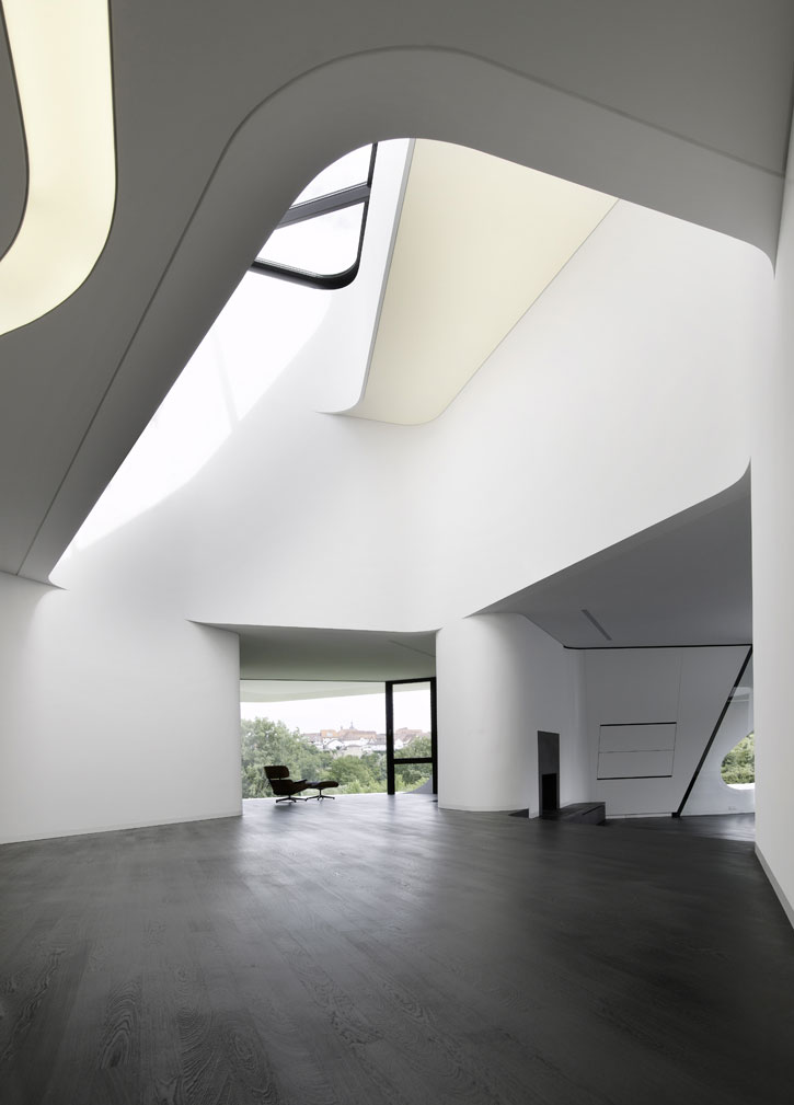 The most futuristic house design in the world digsdigs - Futuristic home interior ...