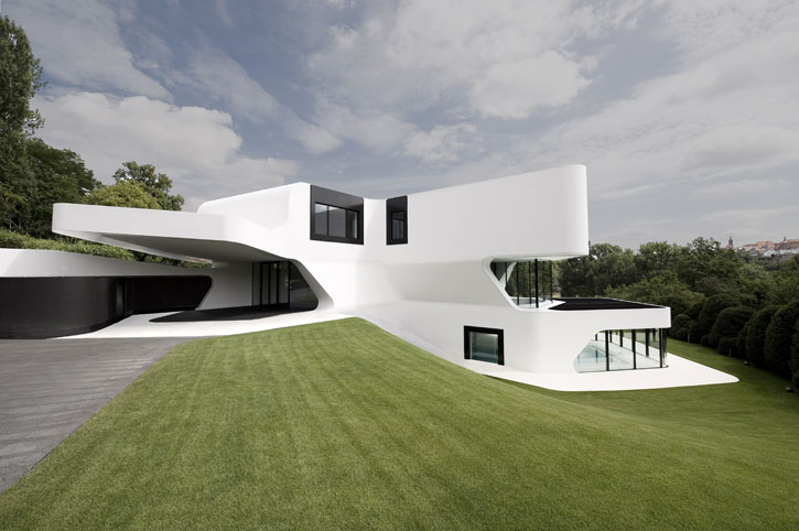The most futuristic house design in the world digsdigs - Best design houses ...