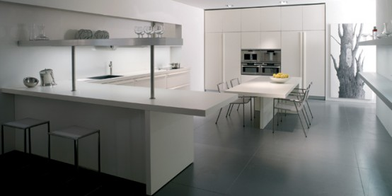 The Most Minimalist Italian Kitchen Design