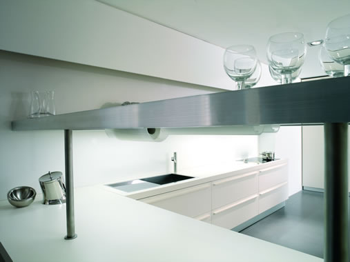 The Most Minimalist Italian Kitchen Design | DigsDigs