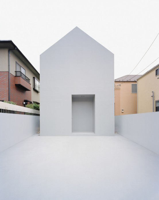 The most minimalist house in japan digsdigs - Artistic wood clad design for warm essence in your house ...