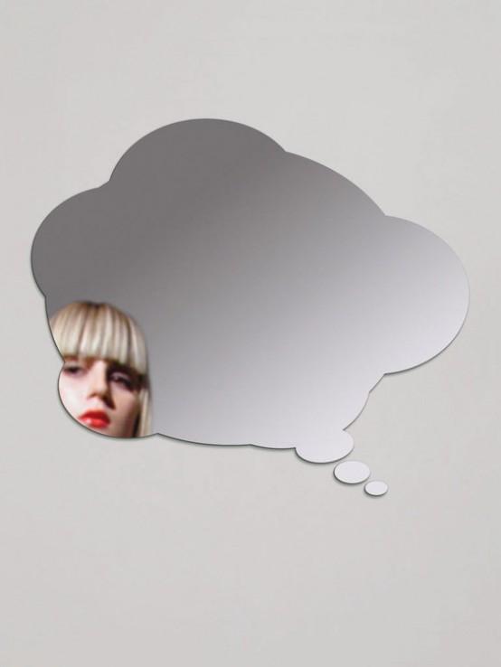 Thinking Bubble Mirror