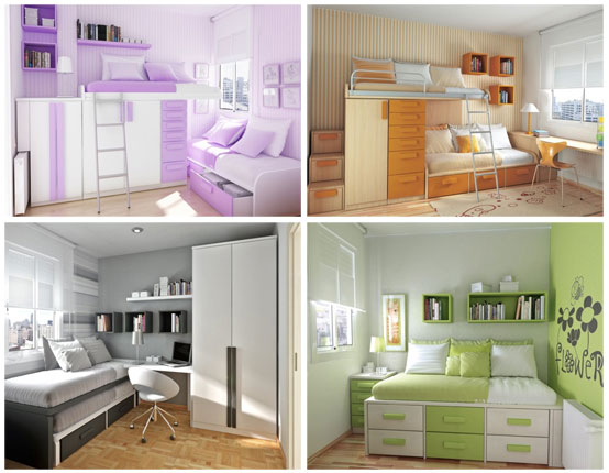 Thoughtful Teen Bedroom Layouts
