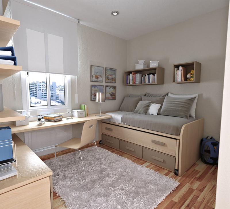 thoughtful teen room layout 18 - Teenage Bedroom Layouts !!