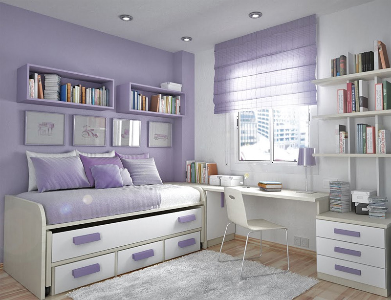 thoughtful teen room layout 26 - Teenage Bedroom Layouts !!