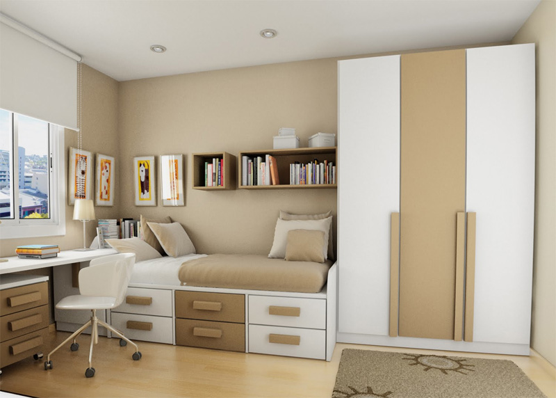 thoughtful teen room layout 32 - Teenage Bedroom Layouts !!