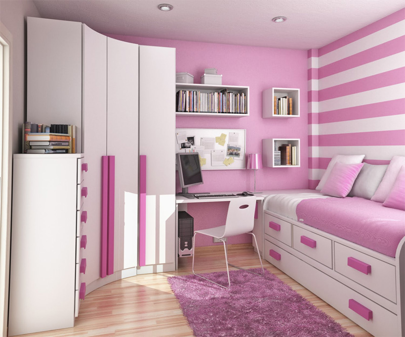 thoughtful teen room layout 35 - Teenage Bedroom Layouts !!