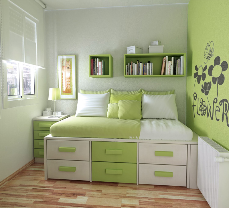 50 Thoughtful Teenage Bedroom Layouts | DigsDigs on Teenage Room  id=63717