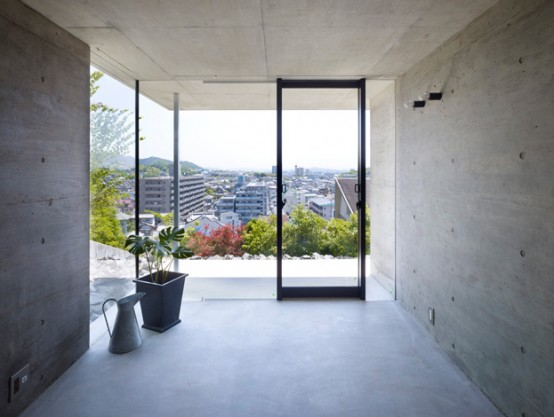 Three Storey Concrete Residence