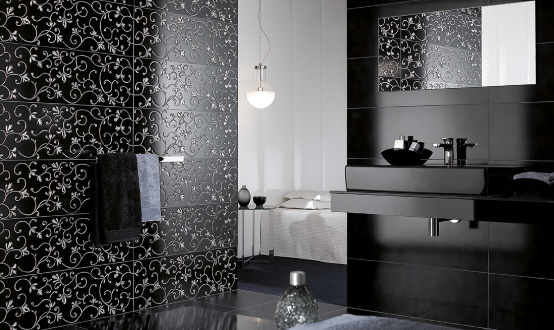Exquisite Tiles With Real Silver And Gold U2013 Aimée By Villeroy U0026 Boch