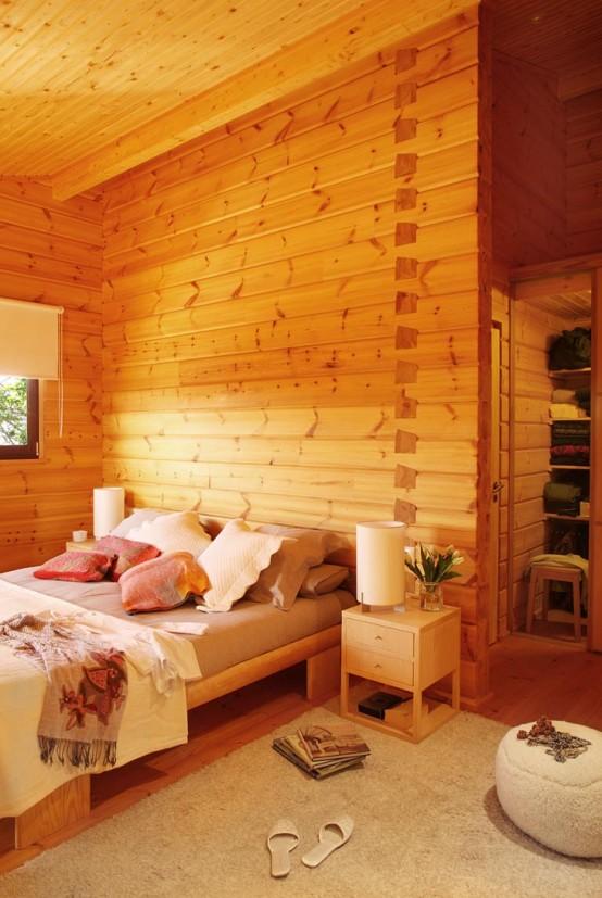 Timber Log Home