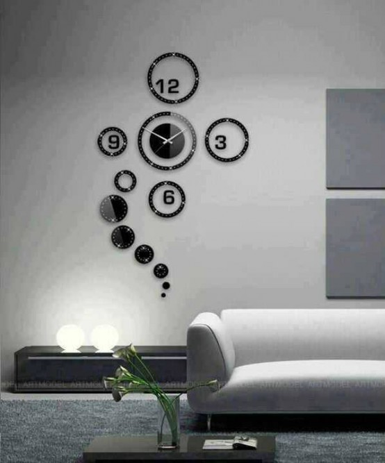 modern clocks for living room. Time As Art Unique Modern Clocks  26 Really DigsDigs