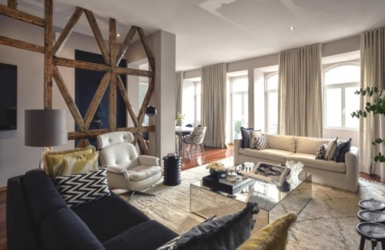 Timeless And Elegant Lisbon Apartment With Eclectic ...