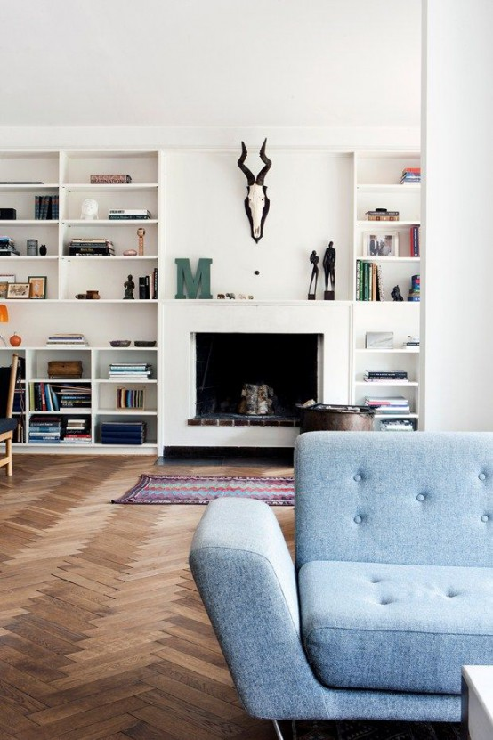 Timeless Home timeless herringbone pattern for your home decor: 33 ideas - digsdigs