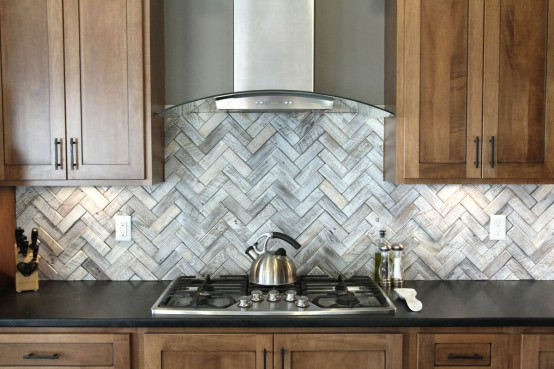 Timeless Herringbone Pattern For Your Home Decor: 33 Ideas