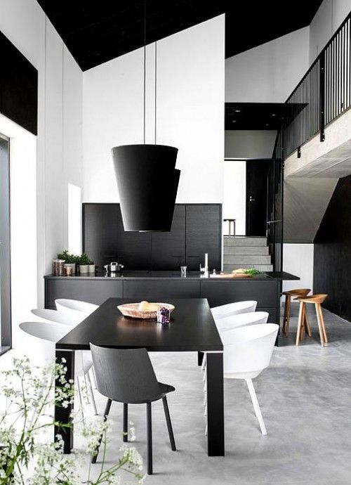 31 Timeless Minimalist Dining Rooms And Spaces