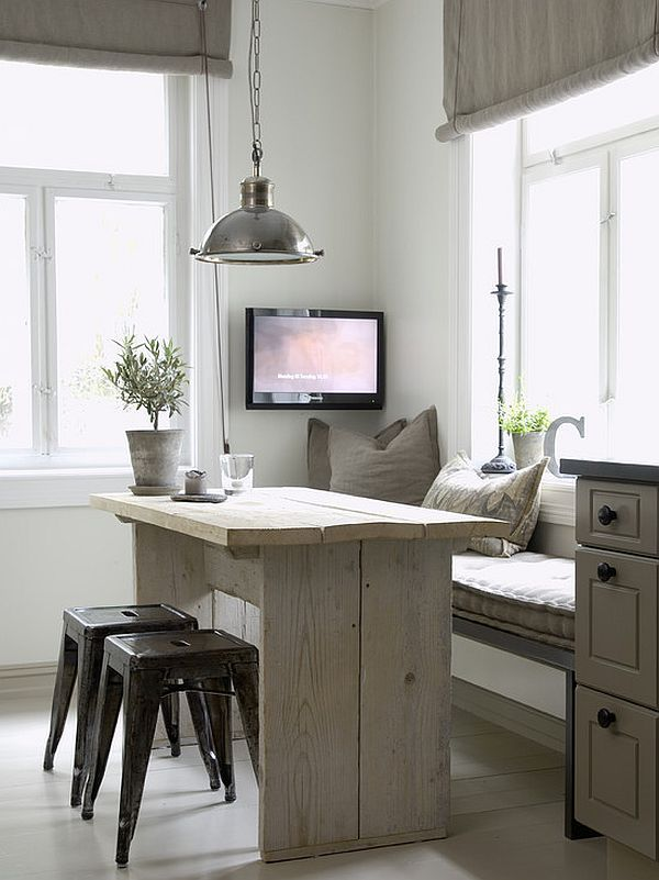 Tiny And Cozy Dining Areas For Every Home