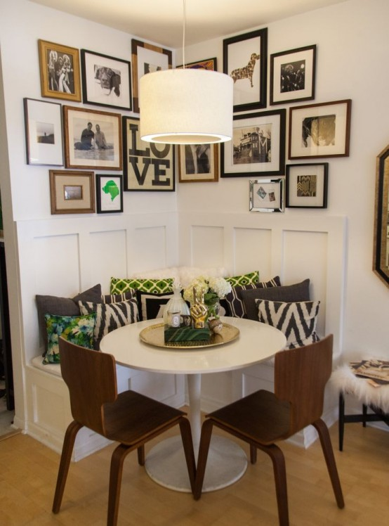 Tiny And Cozy Dining Areas For Every Home. 45 Tiny And Cozy Dining Areas For Every Home   DigsDigs