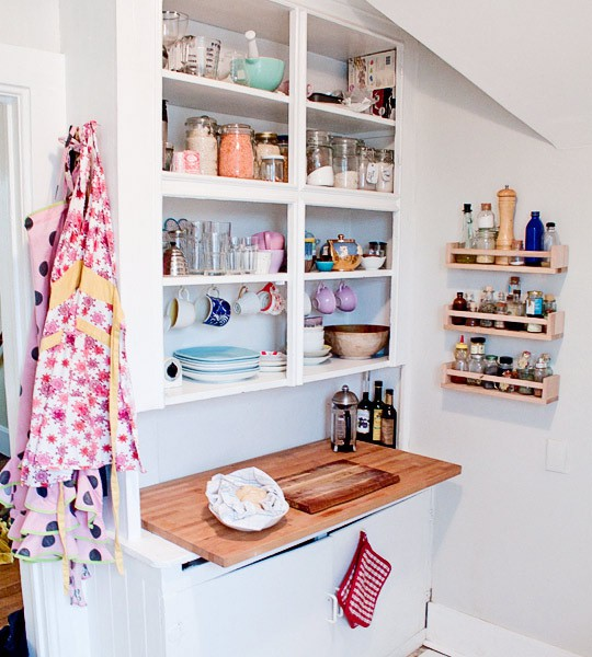 Tiny But Bright Kitchen