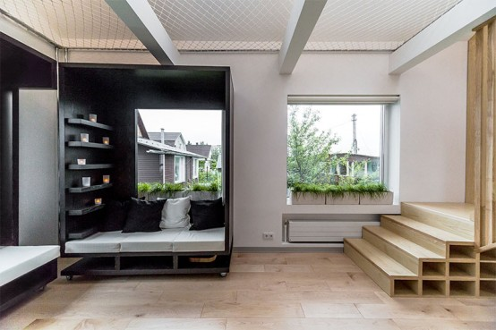 Tiny But Functional Apartment Designed For Two Students