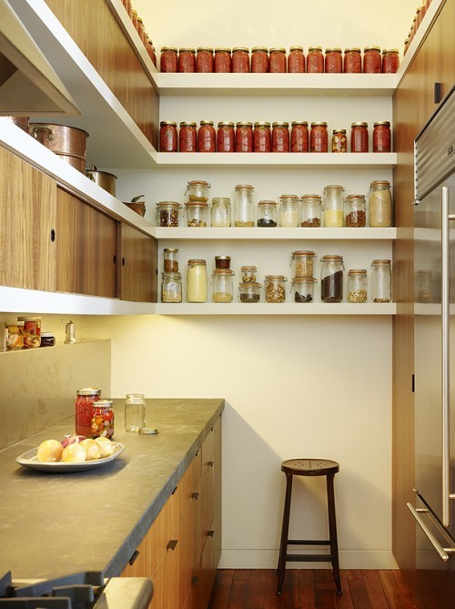 Tiny Kitchen With Vertical Storage
