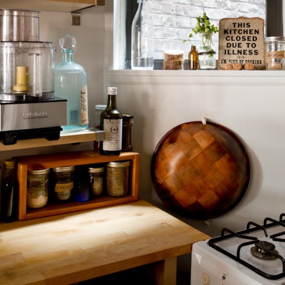 Tiny Manhattan Studio With Smart Storage And Eclectic Decor
