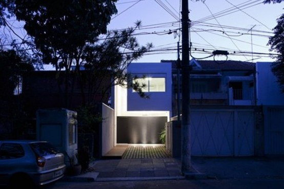 Tiny Minimalist Bright House In Brazil