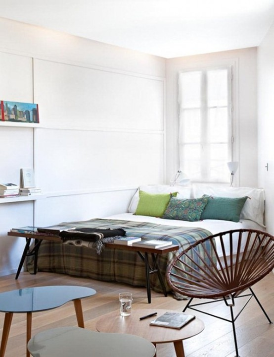 Tiny Modern Loft Of Just 28 Square Meters
