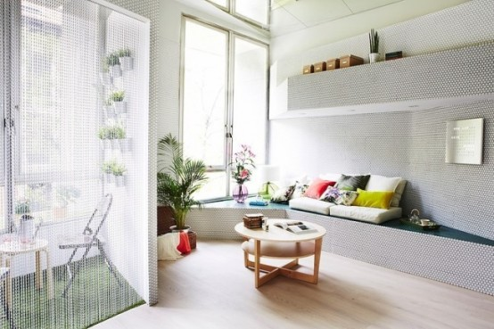Tiny Perimeter Apartment With Smart Design Solutions