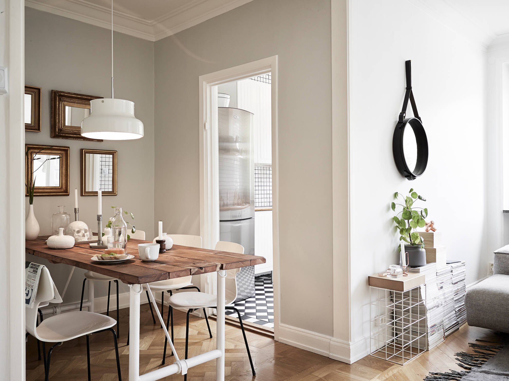 Tiny Scandinavian Apartment Decorated With Style DigsDigs