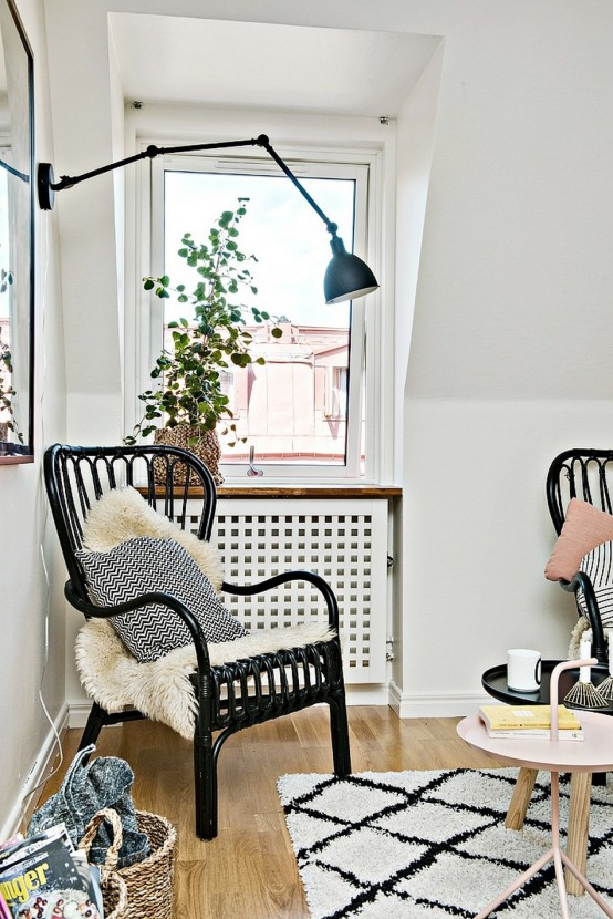 Tiny Scandinavian Apartment With A Smart Space Saving Design