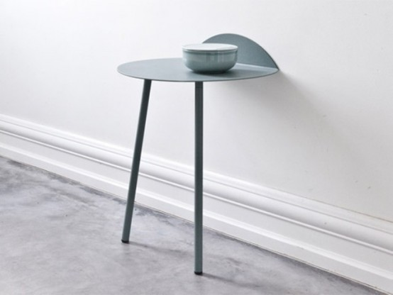 Tiny Yeh Wall Table As A Space-Saving Solution