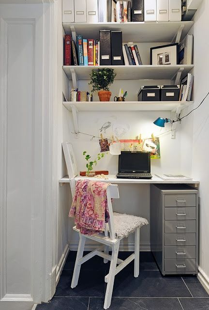 small space home office. Tiny Yet Functional Home Office Area Designs Small Space