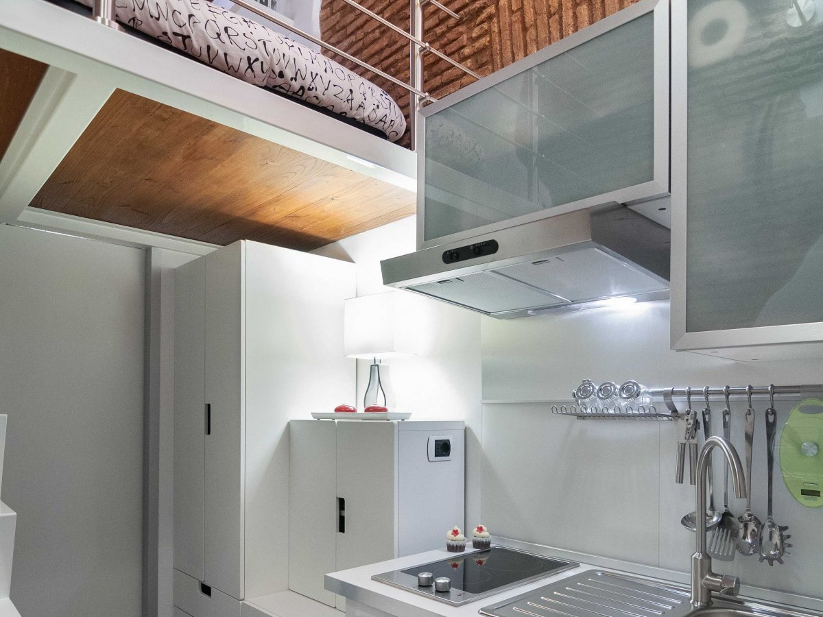 Picture Of tiny yet stylish rome apartment of 7 square meters  3