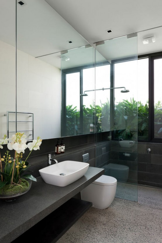 Toorak house blurring boundaries between in and out digsdigs for Boundary bathrooms
