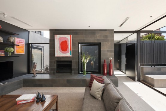 Toorak House Blurring Boundaries Between In And Out