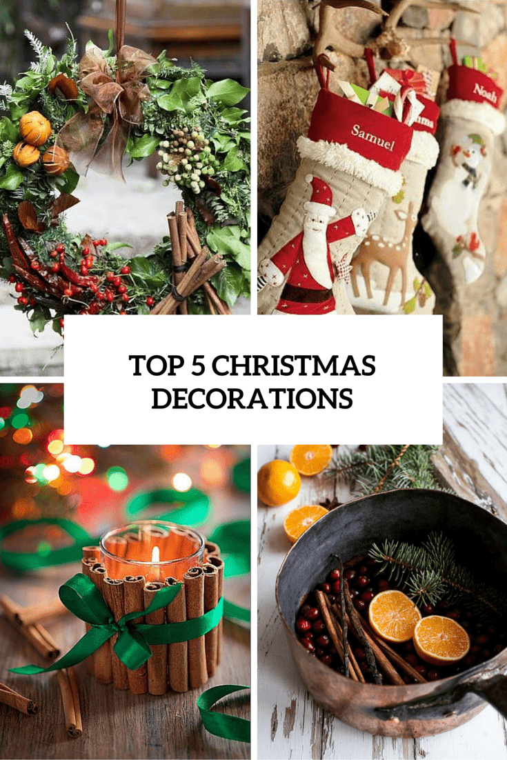 Top 5 Christmas Decorations Cover