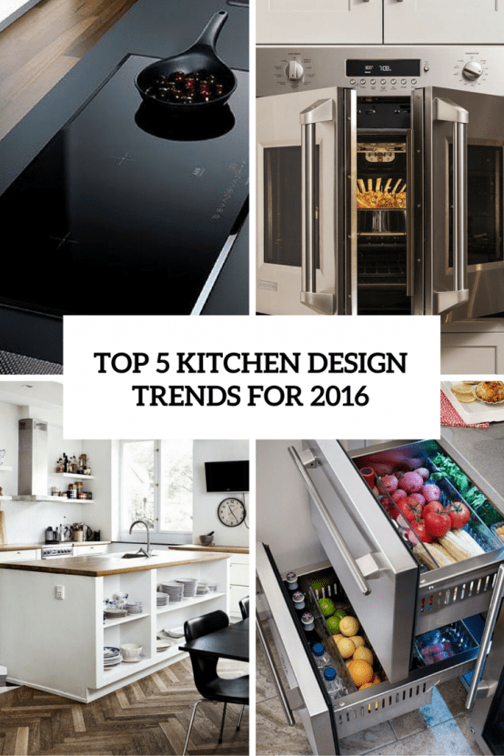 top five kitchen design trends for 2016 cover