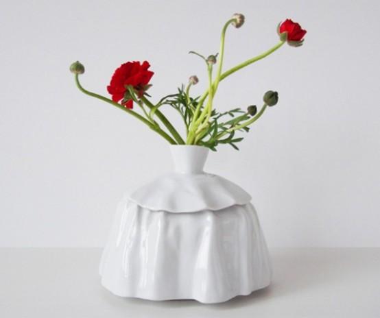 Top Girls Vases Inspired By Vintage Dresses